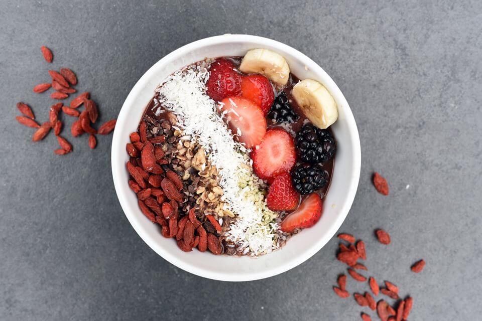 Bowl of nutrient dense food